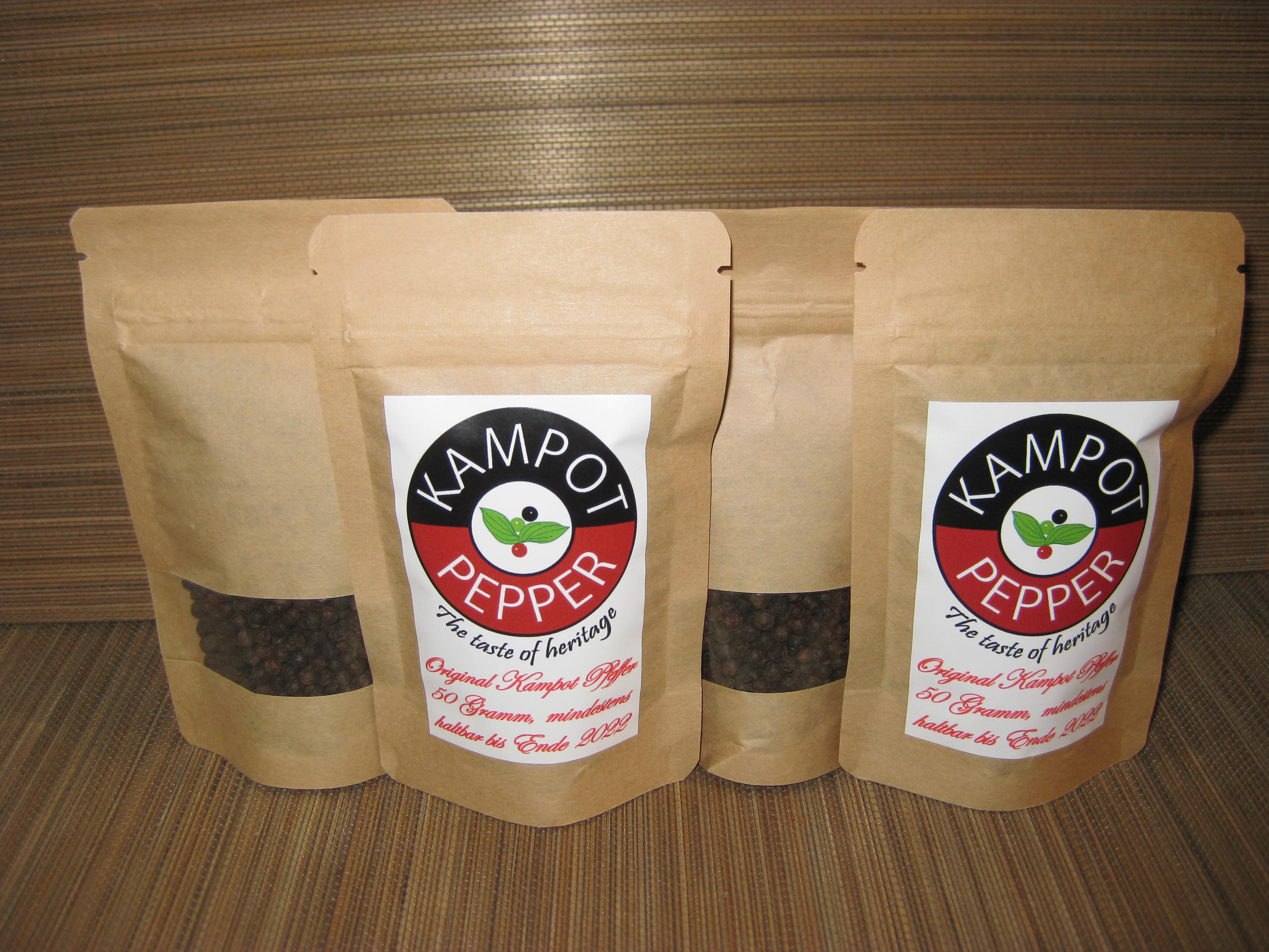Schwarzer Pfeffer im Beutel (200 Gramm)